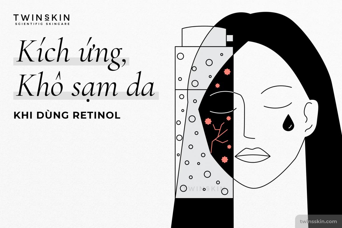 kích ứng retinol